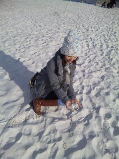 ☆雪の砂☆